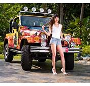 Jeep And Girl Wallpaper  WallpaperSafari