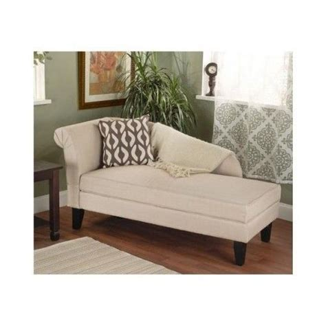 Cotton Storage Chaise Lounge Chair Reading Book Living Chaise Lounge Chair Living Room
