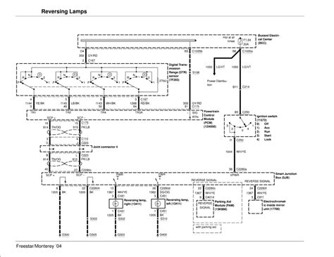 2004 ford freestar wiring diagram repair guides exterior lighting 2004 back up lights autozone