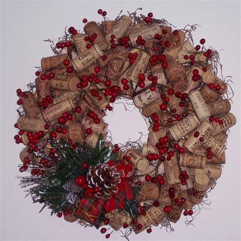the many uses for recycled cork how to make a cork wreath