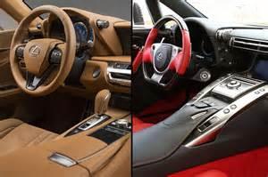 Lexus Lfa 500 Las Diferencias Entre El Lexus Lc 500 Y El Lexus Lfa