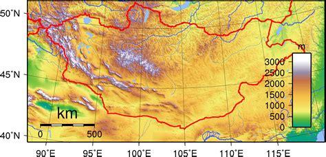 5 themes of geography mongolia mongolia maps