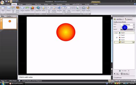 How To Make A Firework Animation In Microsoft Powerpoint Free Animation For Powerpoint 2007