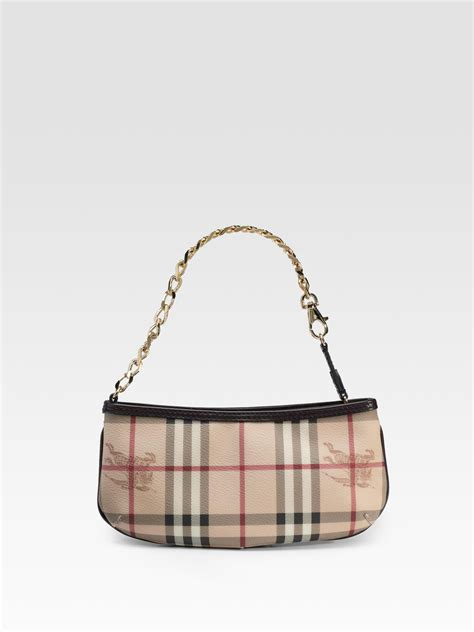 Burberry Wristlet by Burberry Check Wristlet