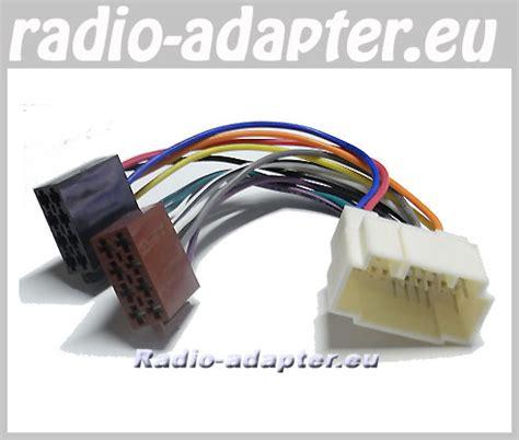 honda cr    car stereo wiring harness iso lead