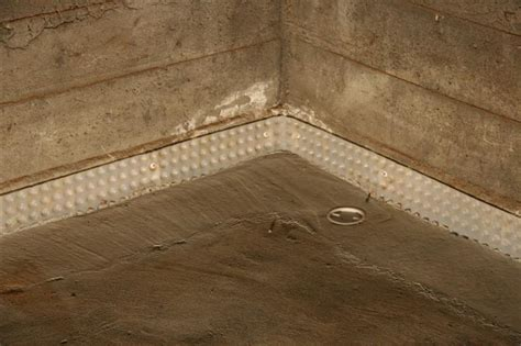 what is a weeping tile system nusite waterproofing