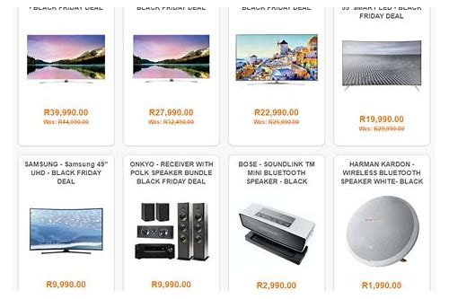 black friday hi fi deals south africa