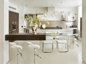 modern kitchen table interesting glass kitchen table ideas as combination of