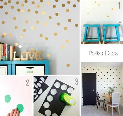 como decorar paredes fotos exito diy c 243 mo decorar paredes con washi y polka dots el