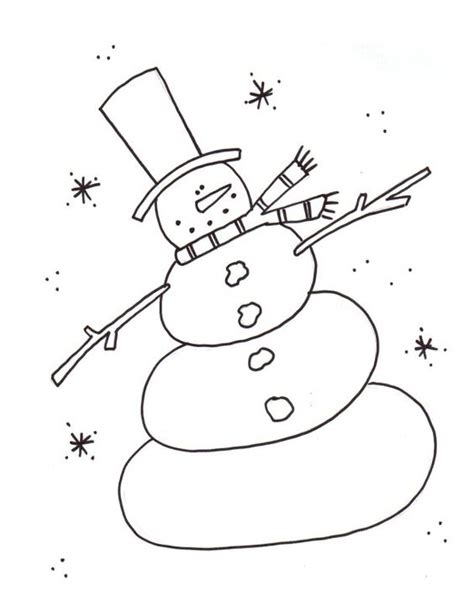 Dancing Snowman Coloring Page | snowman and dancing on pinterest