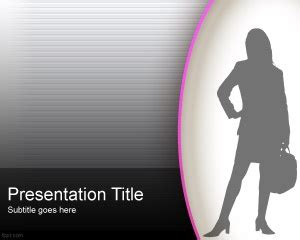 themes for powerpoint secretary 12 best images about woman powerpoint templates on