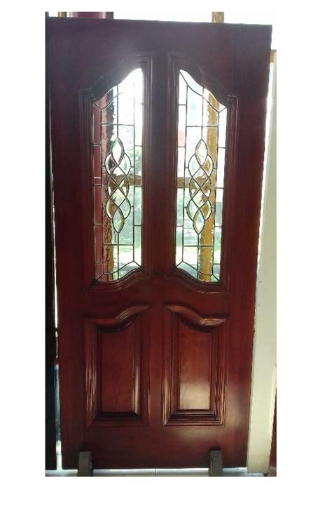 puerta de madera  vitral  en mercado libre