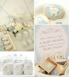 couture blue baby boy shower ideas baby shower