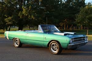 1968 dodge dart gt project cars for sale