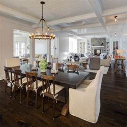 Kitchen Table Chandeliers Farm House Table Dining Room Beach With Beam Ceiling
