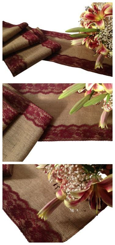 burgundy lace table runner 25 best ideas about rustic wedding on