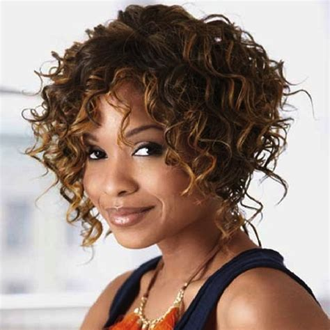haircuts for women with naturally curly hair with a fat face short natural curly hairstyles for black women black