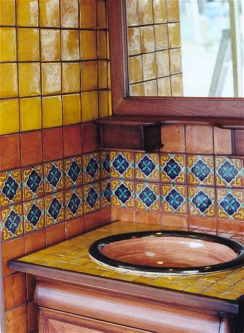 Handmade Bathroom Tiles - talavera tile bathroom gt gt m 233 xico