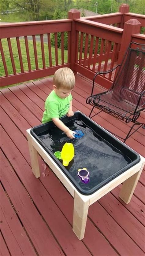 diy toddler activity table 17 best ideas about toddler water table on