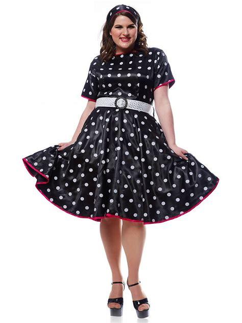 50s costumes black 50s dress s plus costume ebay