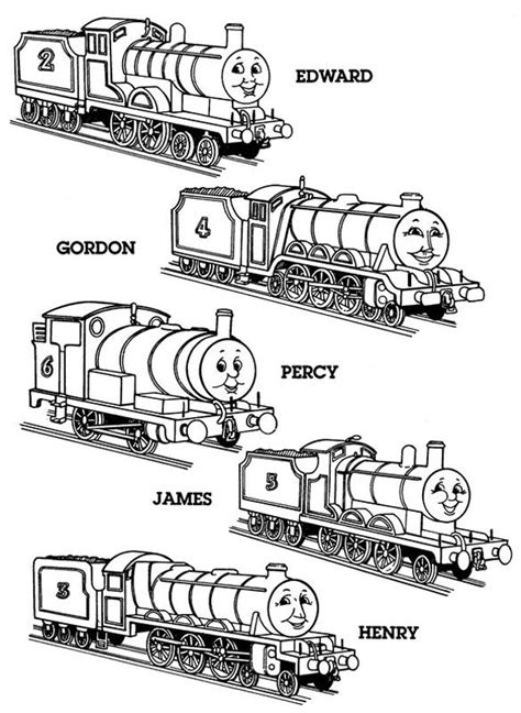 31 Best Images About Thomas The Tank Engine On Pinterest The Tank Engine Coloring Pages