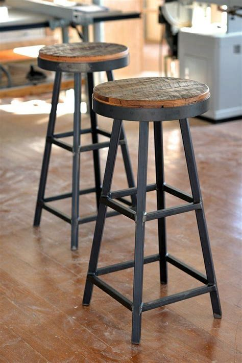rustic bar top ideas rustic industrial bar stools
