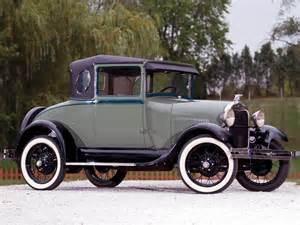 1929 ford model a business coupe 54a retro wallpaper