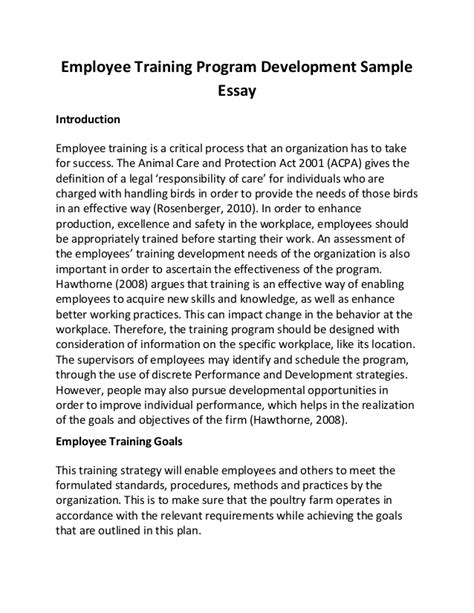 Essay On Email Monitoring by Employee Program Development Sle Essay