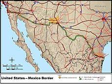 mexico–united states border wikipedia