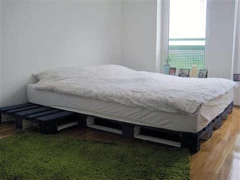 wood pallet bed frame wooden pallet bed frame 101 pallets