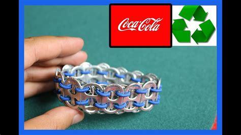 recycled bracelet coke  youtube