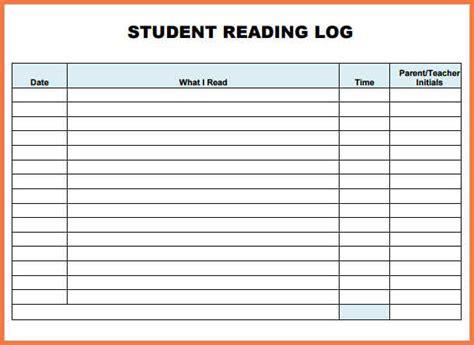 printable april reading log printable reading log bio letter sle