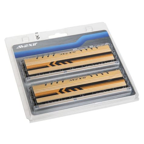 Memory Ram Avexir avexir gold series announced the only tested ram memory with 0 failure rate