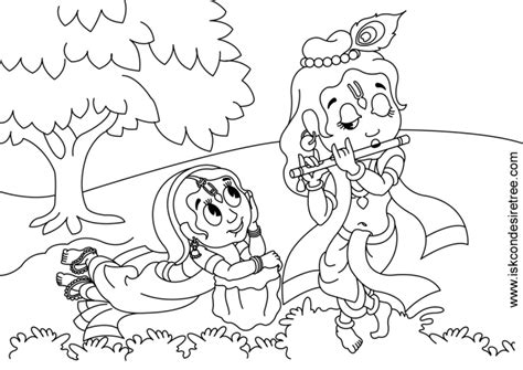 coloring pages of baby krishna pics for gt baby krishna colouring pages