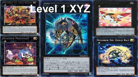 yu gi oh xyz deck yu gi oh deck profile level 1 xyz banlist 1 4 2014