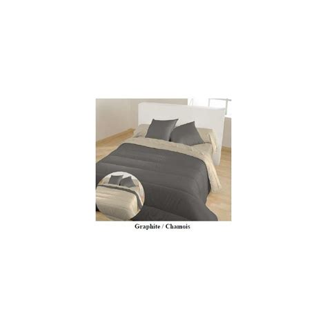 Couette 100 Polyester by Couette Microfibre Bicolore 100 Polyester 400gr M 178 Colatex
