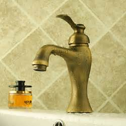 Antique Brass Bathroom Sink Faucets Centerset Antique Brass Bathroom Sink Faucet