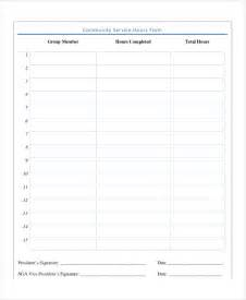 Service Sheet Template by Service Form Template