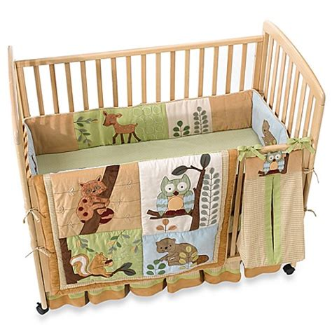 Ss Noah Crib Bedding Lambs 174 Enchanted Forest 6 Crib Bedding Buybuy Baby