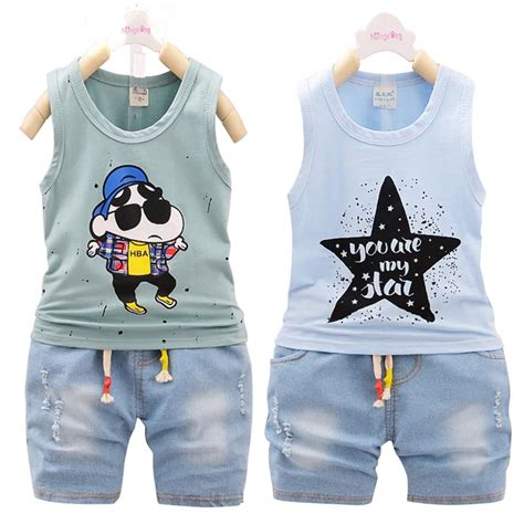 C788 Kid Cotton Fashion Set baby boy summer clothes set boutique sets children clothing cotton tracksuit