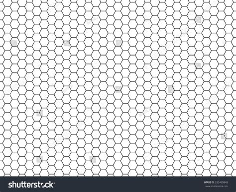 grid pattern trend grid seamless pattern hexagonal cell texture stock vector
