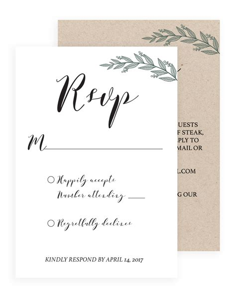 examples of rsvp responses wedding rsvp example rsvp wording how to