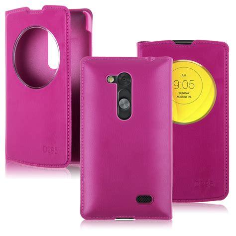 Casing Hp Lg L Fino funda bateria carcasa cuero flip view cover para lg l fino d290n d295 ebay