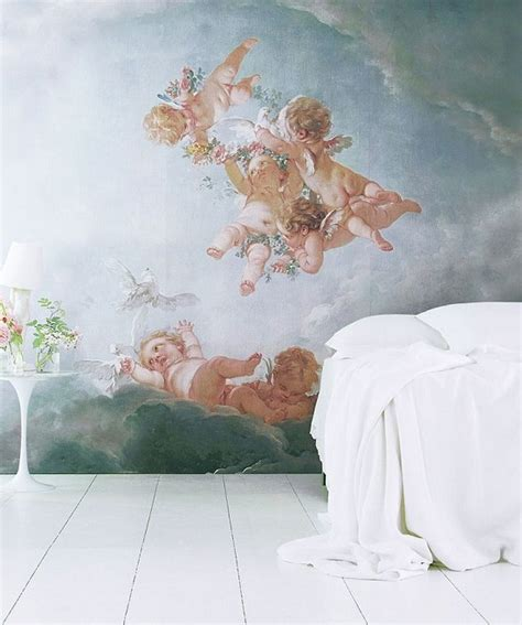 Angel Wall Murals cherubs and trees new wall murals from an angel at my