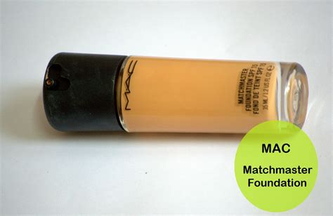 Foundation Mac Matchmaster mac matchmaster foundation spf 15 swatch and review