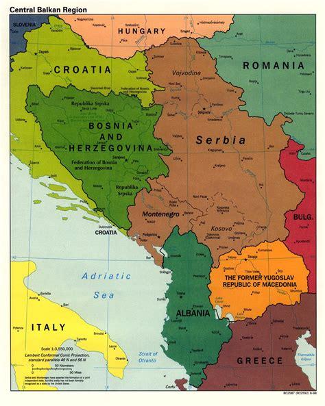 balkans map balkans region map