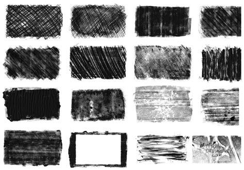 use pattern brush photoshop monoprint texture brushes free photoshop brushes at