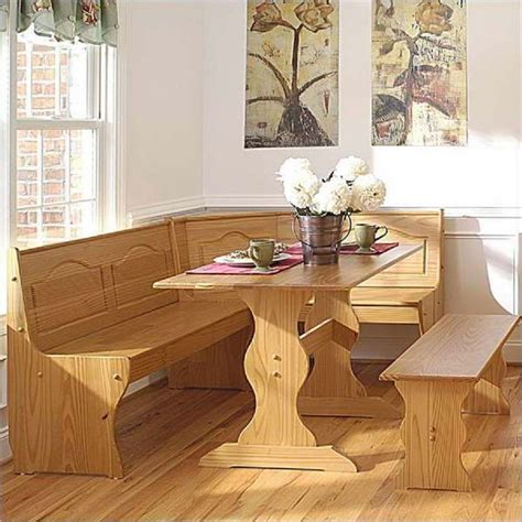 table with bench set for kitchen dining room inspiring dinette booth sets kitchen booth