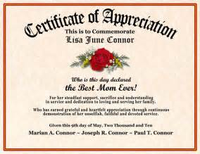 appreciation letter grandmother mothers day and fathers day certificates personalized giift pics photos grandmother appreciation poems