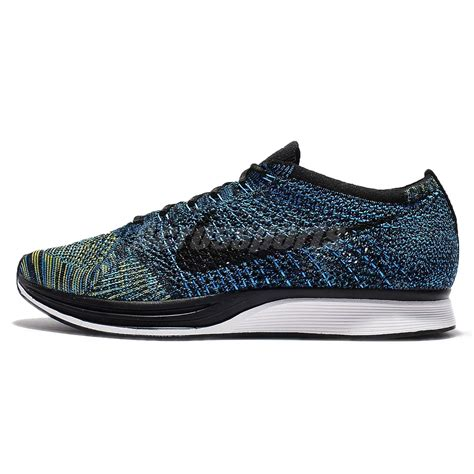 racing sneakers nike flyknit racer crew blue running racing shoes